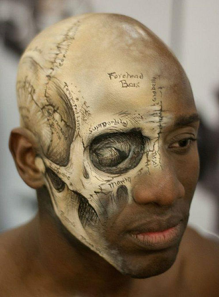 maquillaje para hombres en halloween