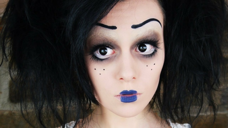 maquillajes de Halloween opciones inspirado peliculas ideas