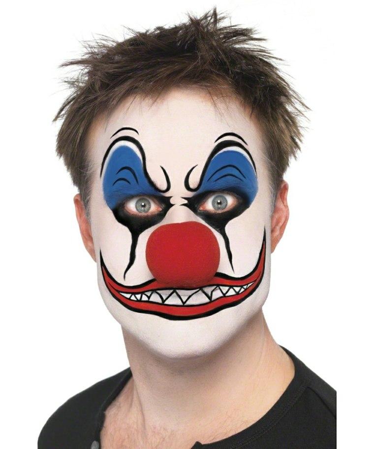 maquillajes Halloween opciones payaso malefico ideas