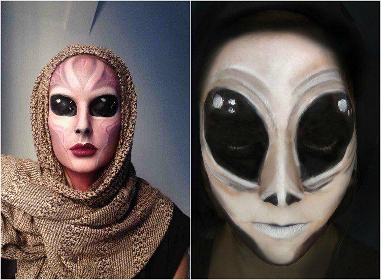 maquillajes especiales halloween proporciones