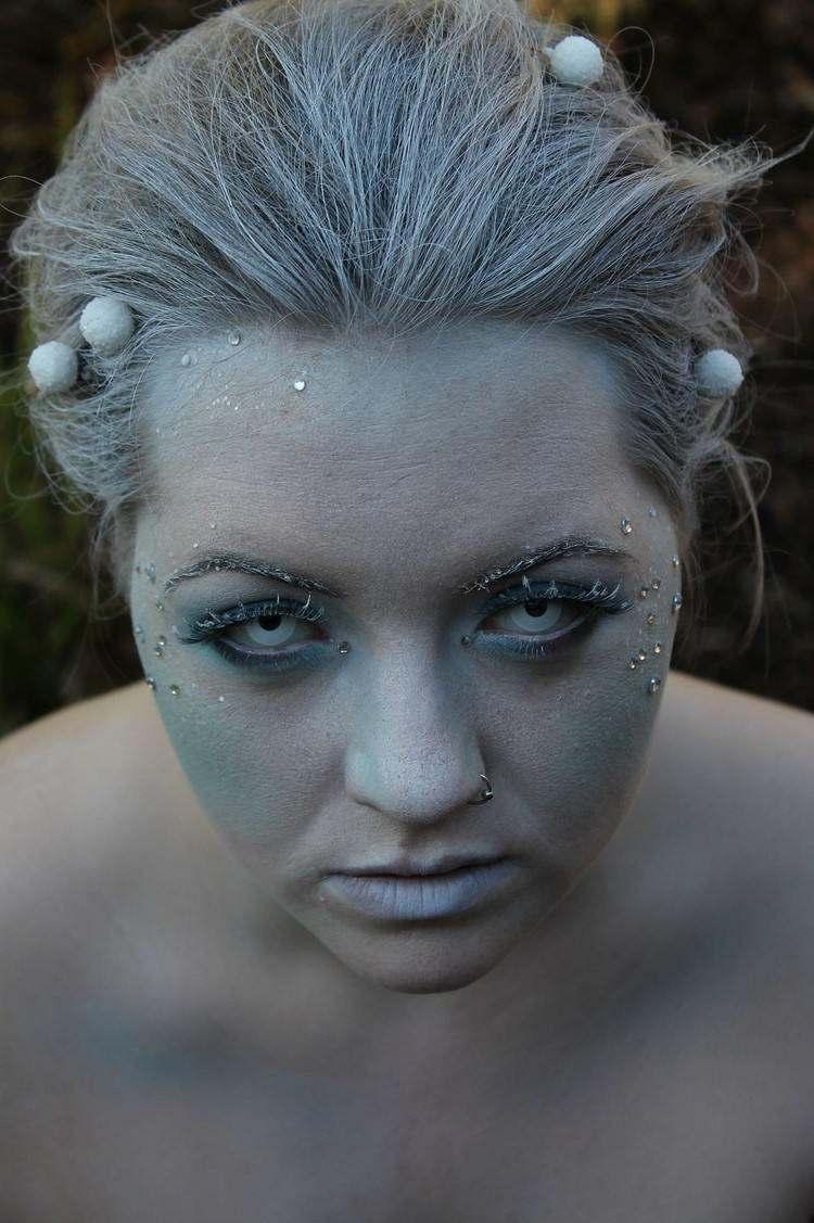 maquillajes esqueletos zombie efectos