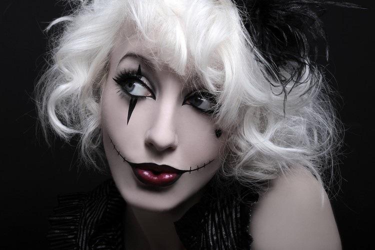 Resultado de imagen de maquillajes de halloween elegantes