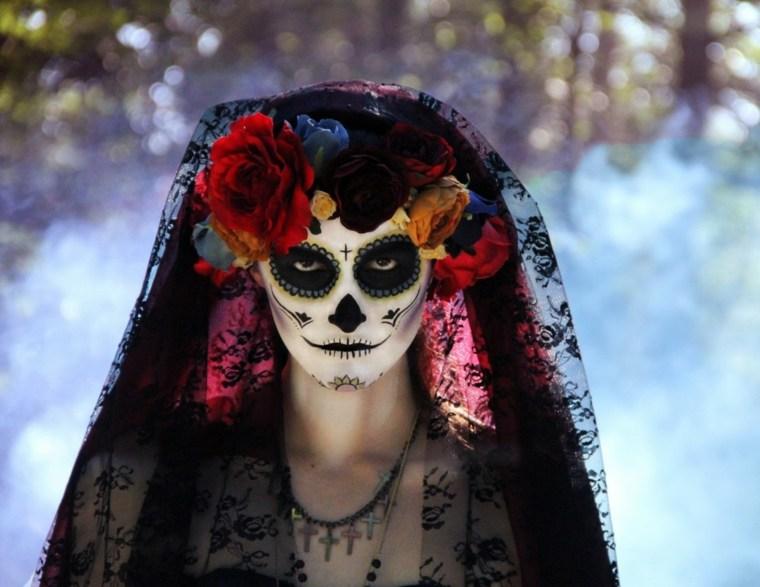 maquillarse para halloween forma original
