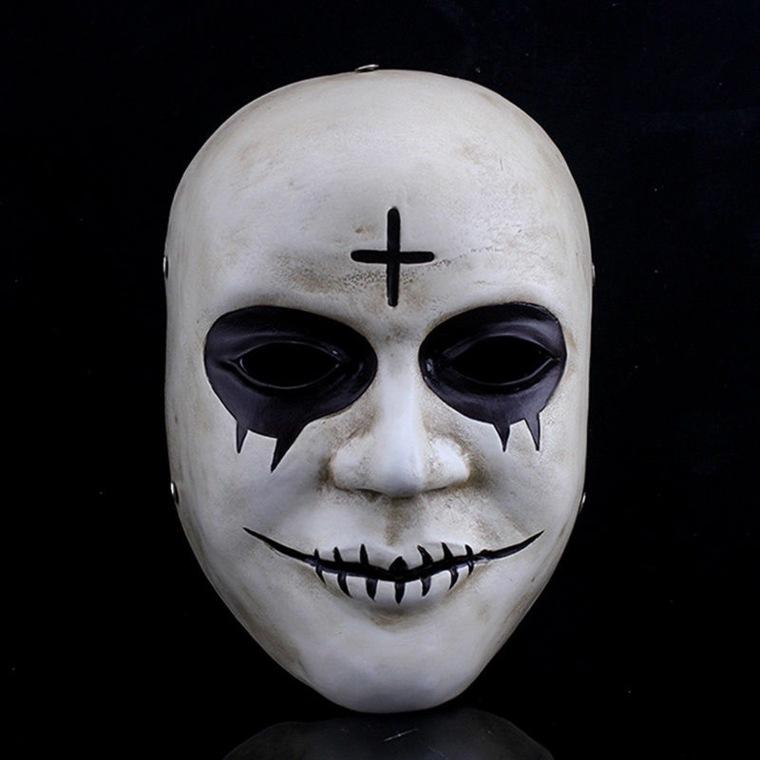 máscara de halloween costura