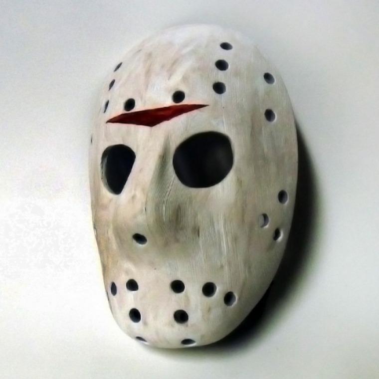 máscaras de halloween agujeros