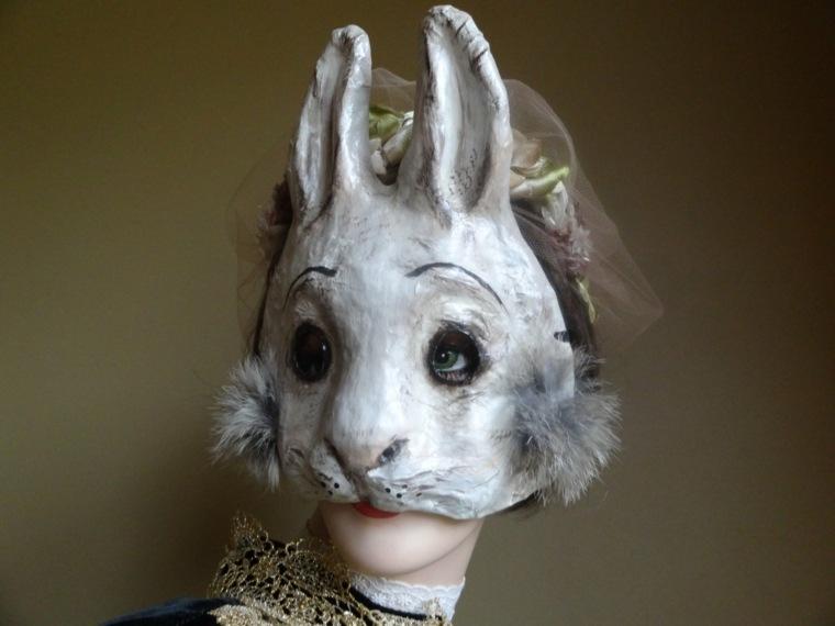 máscaras de halloween conejo
