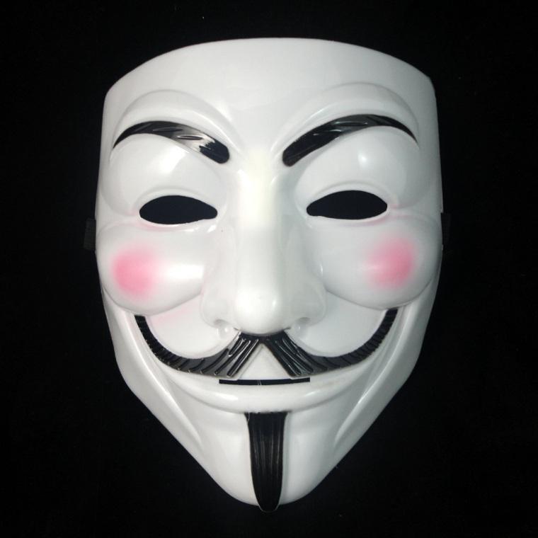 máscaras de halloween muñeco