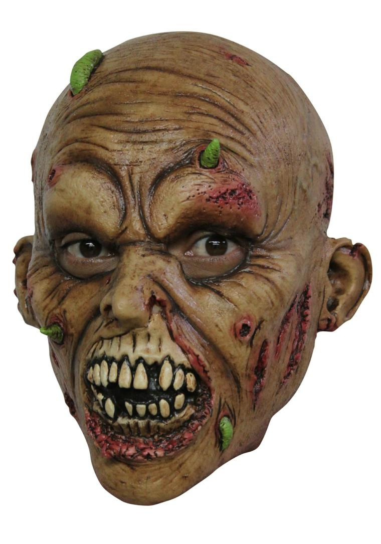 máscaras para halloween zombie