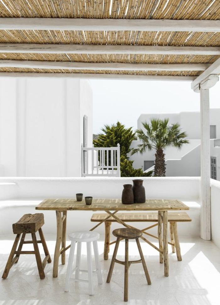 mikonos blanco suelos estantes salas