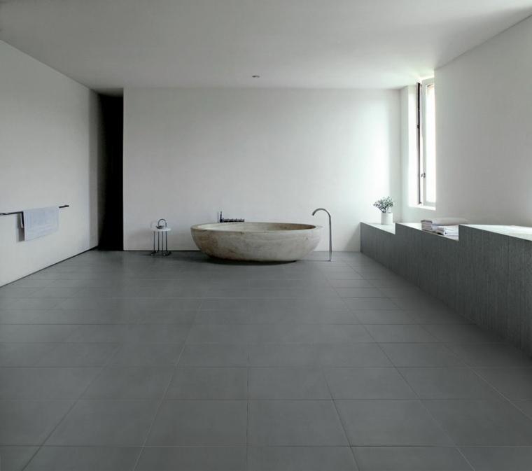 minimalista baño rocas especiale minimalistas