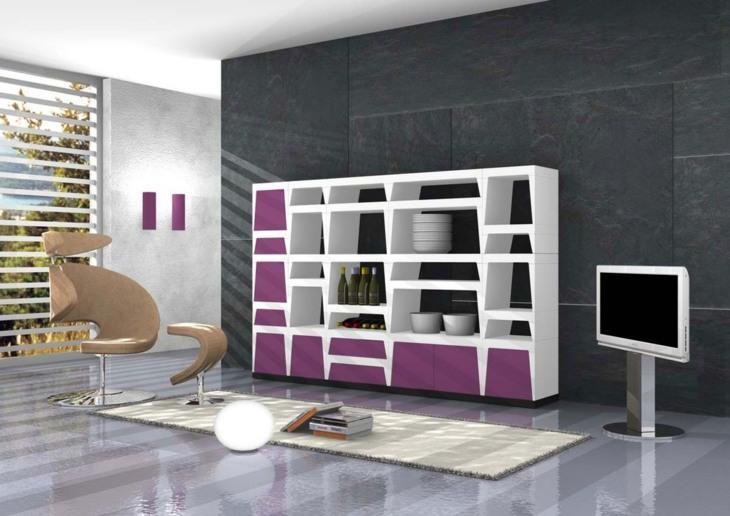 mobiliario modular alfombras sistemas libros