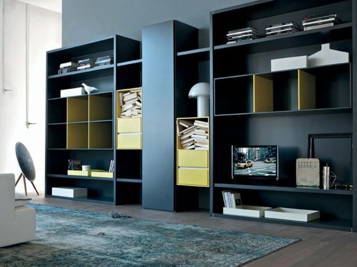 mobiliario modular especiales salas colores