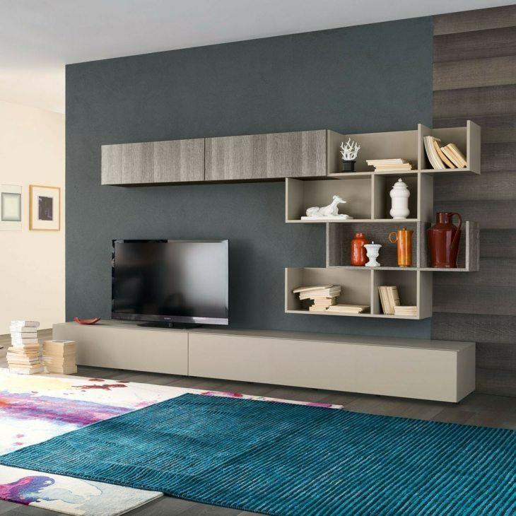 mobiliario modular especiales salones paredes