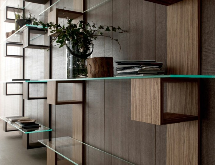 mobiliario modular paredes modernas plantas