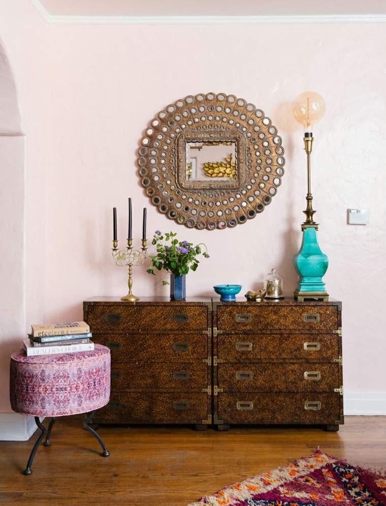 moda bohemia pared