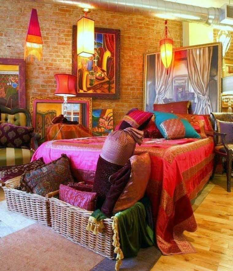moda boho dormitorio