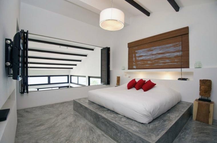 modernos habitaciones especiales camas madera