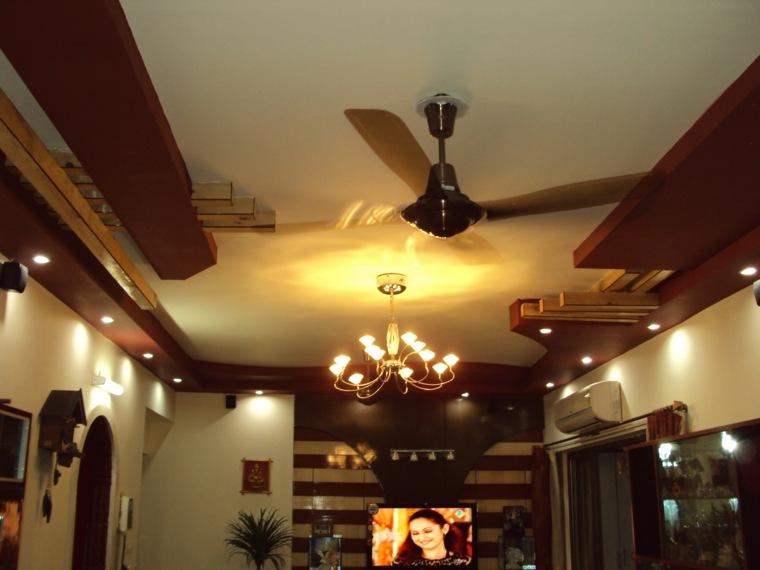 molduras de madera para techos