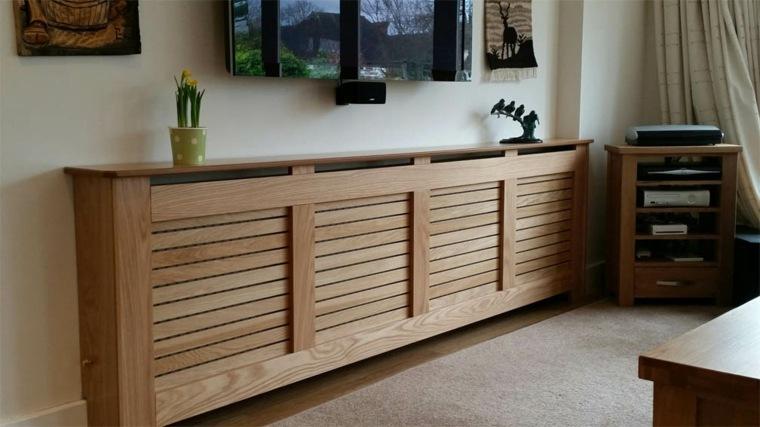 Cubreradiadores modernos para un interior con estilo for Muebles para cubrir radiadores