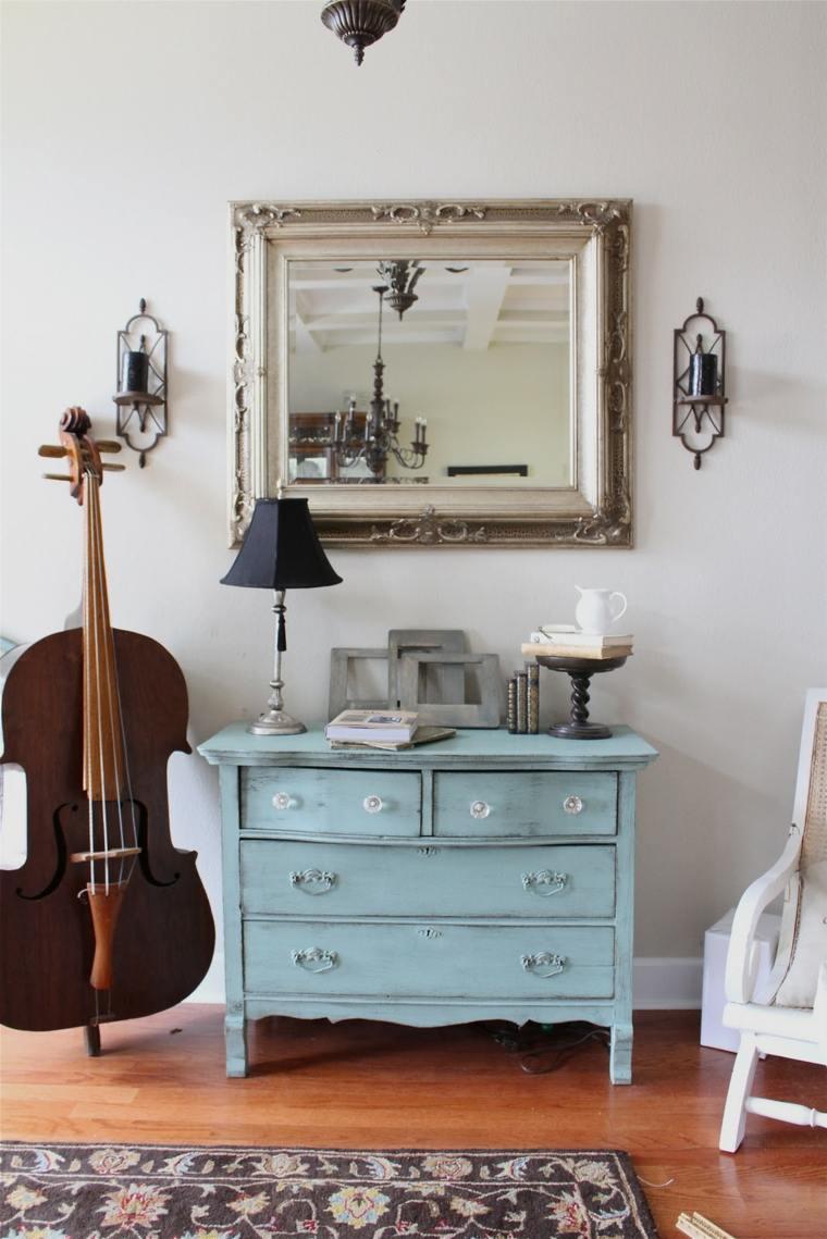 mueble recibidor barato estilo retro