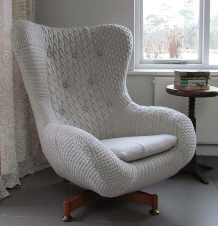 mueble tapizado salón