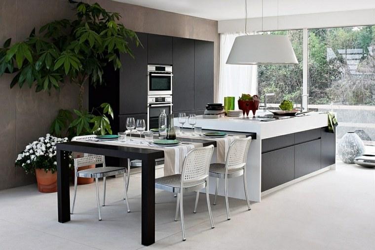 Muebles para la cocina colores y formas - Muebles auxiliares de cocina ...