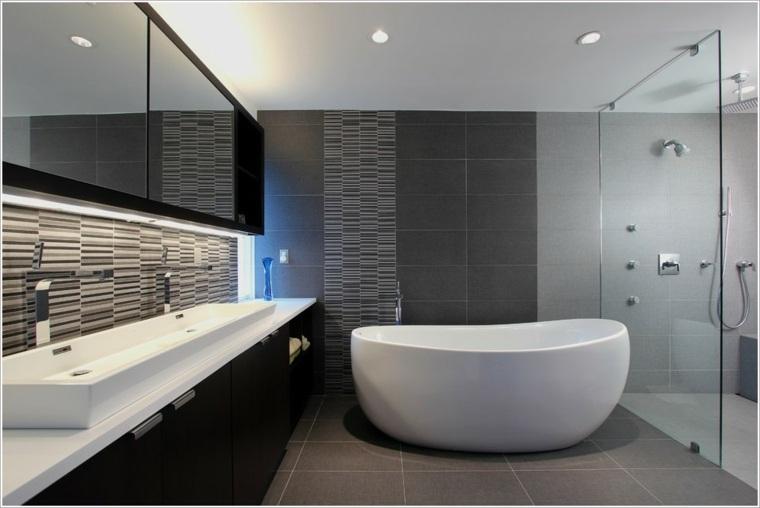 Ba os originales en negro y en gris - Muebles bano originales ...
