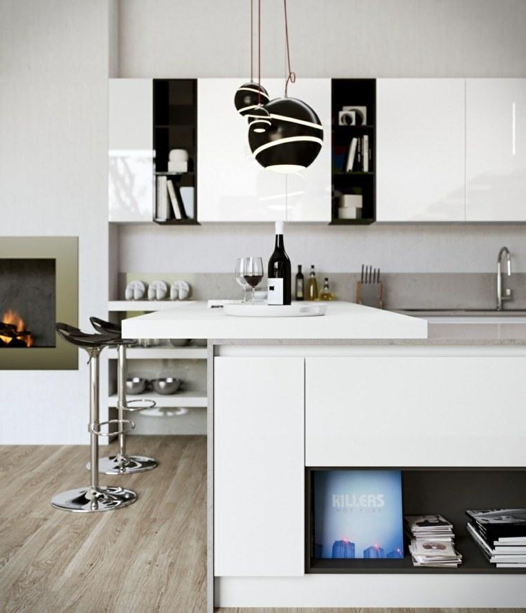 muebles funcionales estilo partes lineas