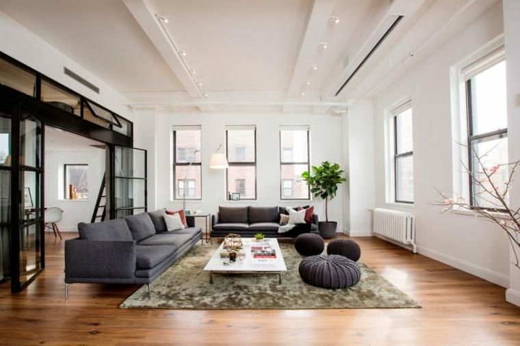 muebles negro preciosos salon Shadow Architects ideas