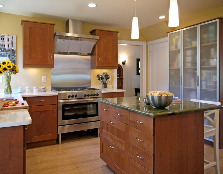 Muebles para la cocina colores y formas for Muebles de cocina homecenter