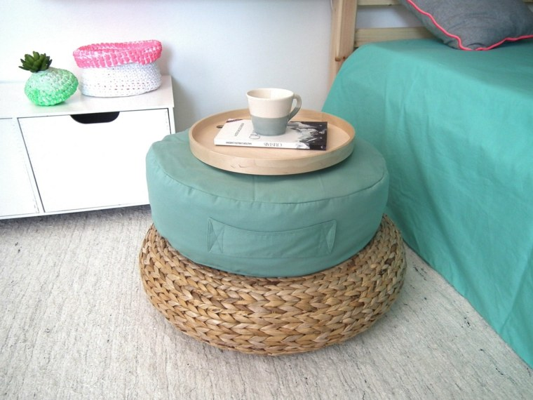 muebles tapizados decoración otoñal