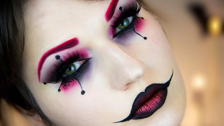 mueneca moderna estilos ojos efectos