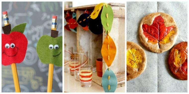ninos ideas sencillas decorativas otoño