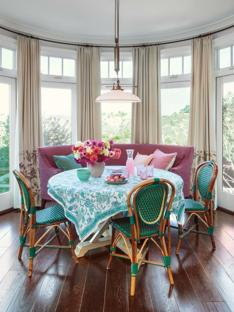 comedor estupendo diseno muebles colores