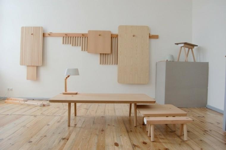Muebles de madera modernos ideas para cada habitacin