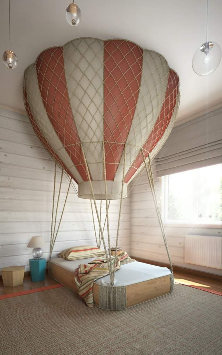 original diseño interior cama globo