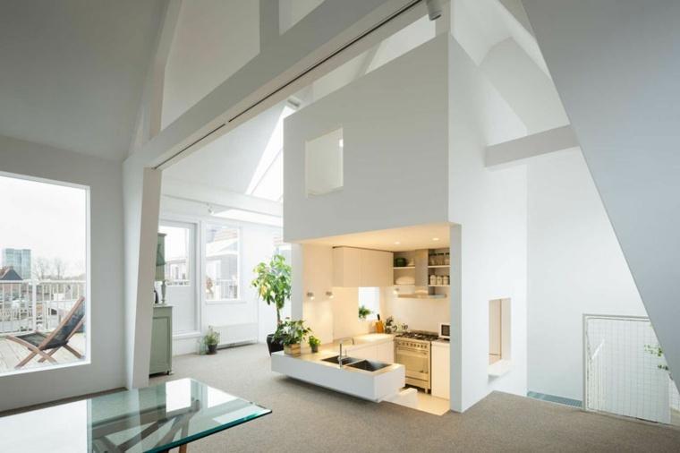 original salon loft estilo mdoerno