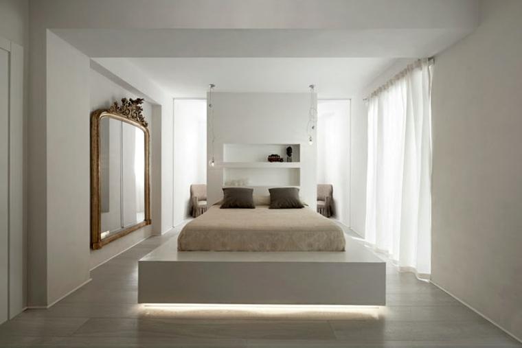 original cama luces led integradas