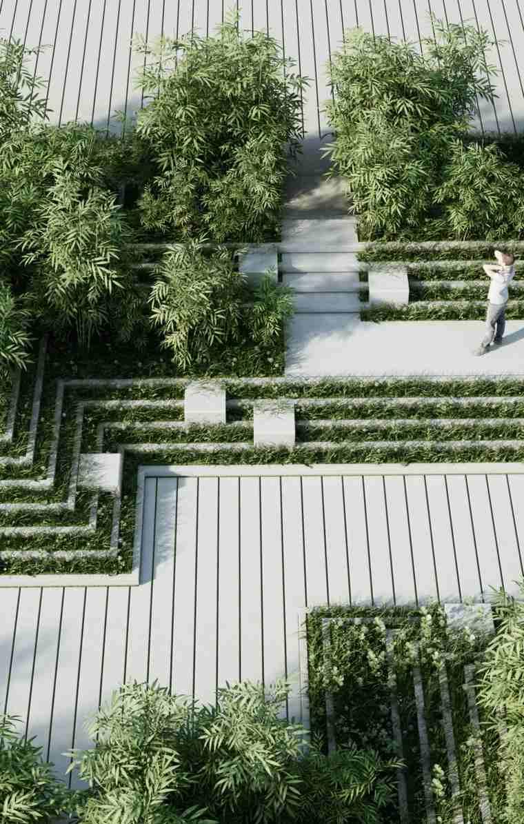 Ideas f ciles de paisajismo decora tu jard n de forma for Bordillos jardin
