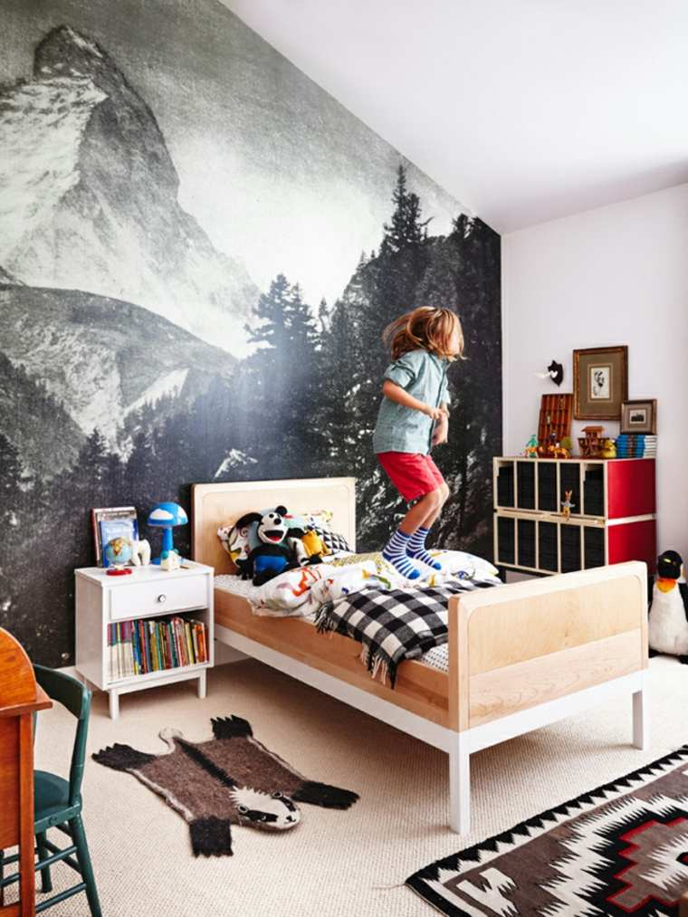 original diseño habitacion infantil poster