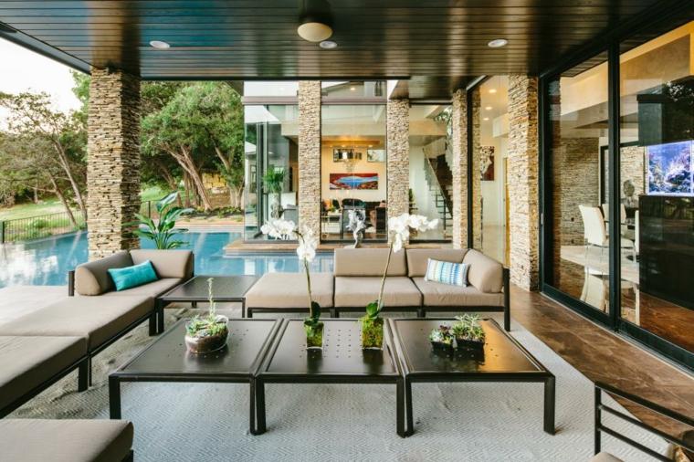 original diseño terraza moderna lujosa