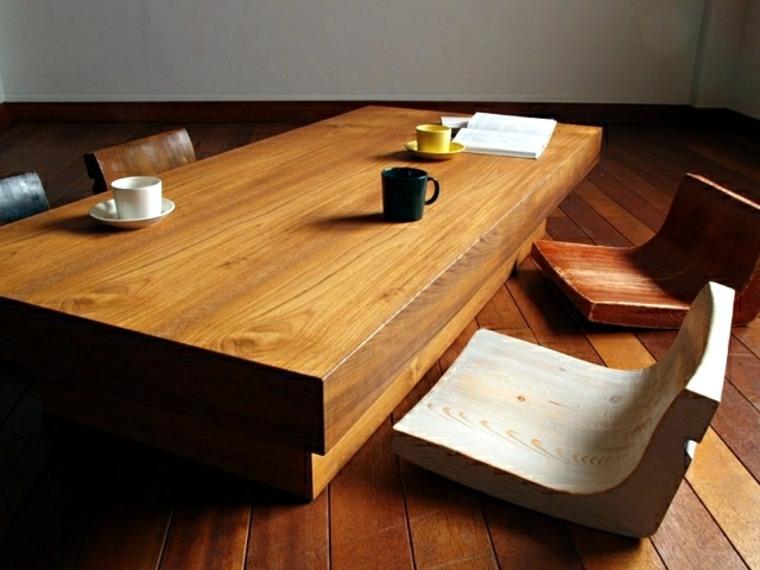 original conjunto muebles estilo zen