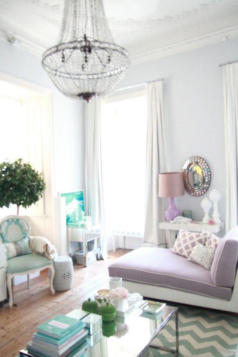 Colores pastel suaves para decorar tu hogar 24 ideas - Decoracion original hogar ...