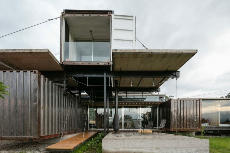 original diseño casa contenedor