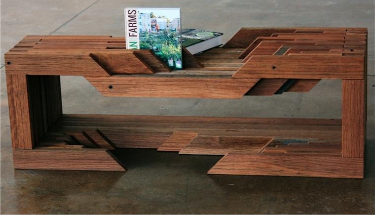 original diseño revistero madera