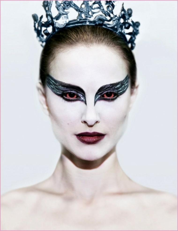 original maquillaje cisne negro