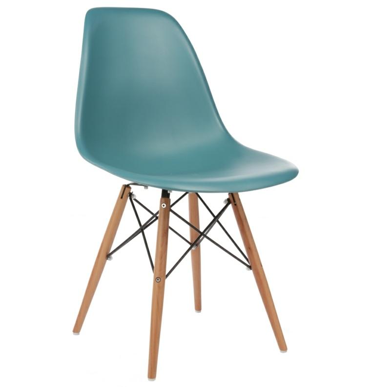 original silla respaldo turquesa