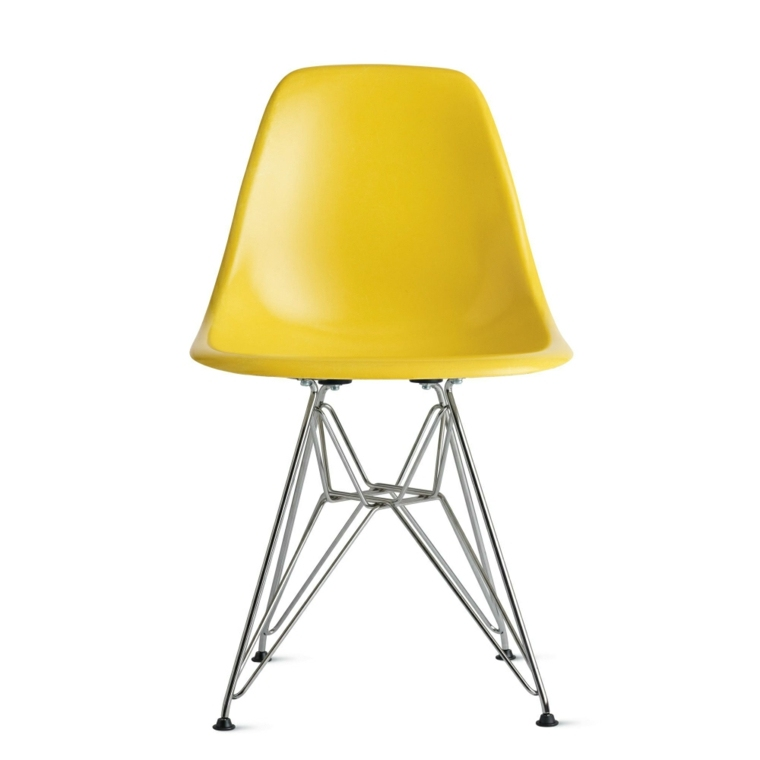 original silla eames amarilla deco