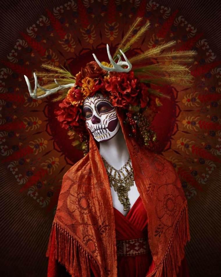 originales diseños Maquillajes de halloween