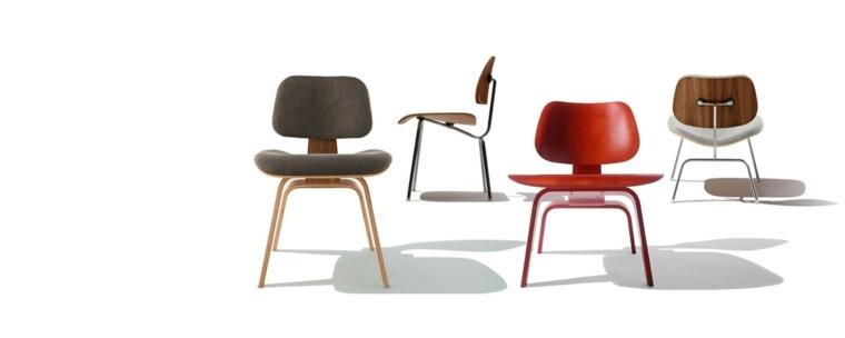 originales sillas eames varios colores
